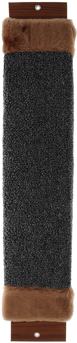 Когтеточка Неженка, с мехом, с кошачьей мятой, 61 х 12 х 2,5 см6822Когтеточка Неженка поможет сохранить мебель и ковры в доме от когтей вашего любимца, стремящегося удовлетворить свою естественную потребность точить когти. Основание изделия изготовлено из ДСП и обтянуто прочной тканью, а столб для точения когтей обтянут джутом. Товар продуман в мельчайших деталях и, несомненно, понравится вашей кошке. Всем кошкам необходимо стачивать когти. Когтеточка - один из самых необходимых аксессуаров для кошки. Для приучения к когтеточке можно натереть ее сухой валерьянкой или кошачьей мятой. Когтеточка поможет вашему любимцу стачивать когти и при этом не портить вашу мебель.