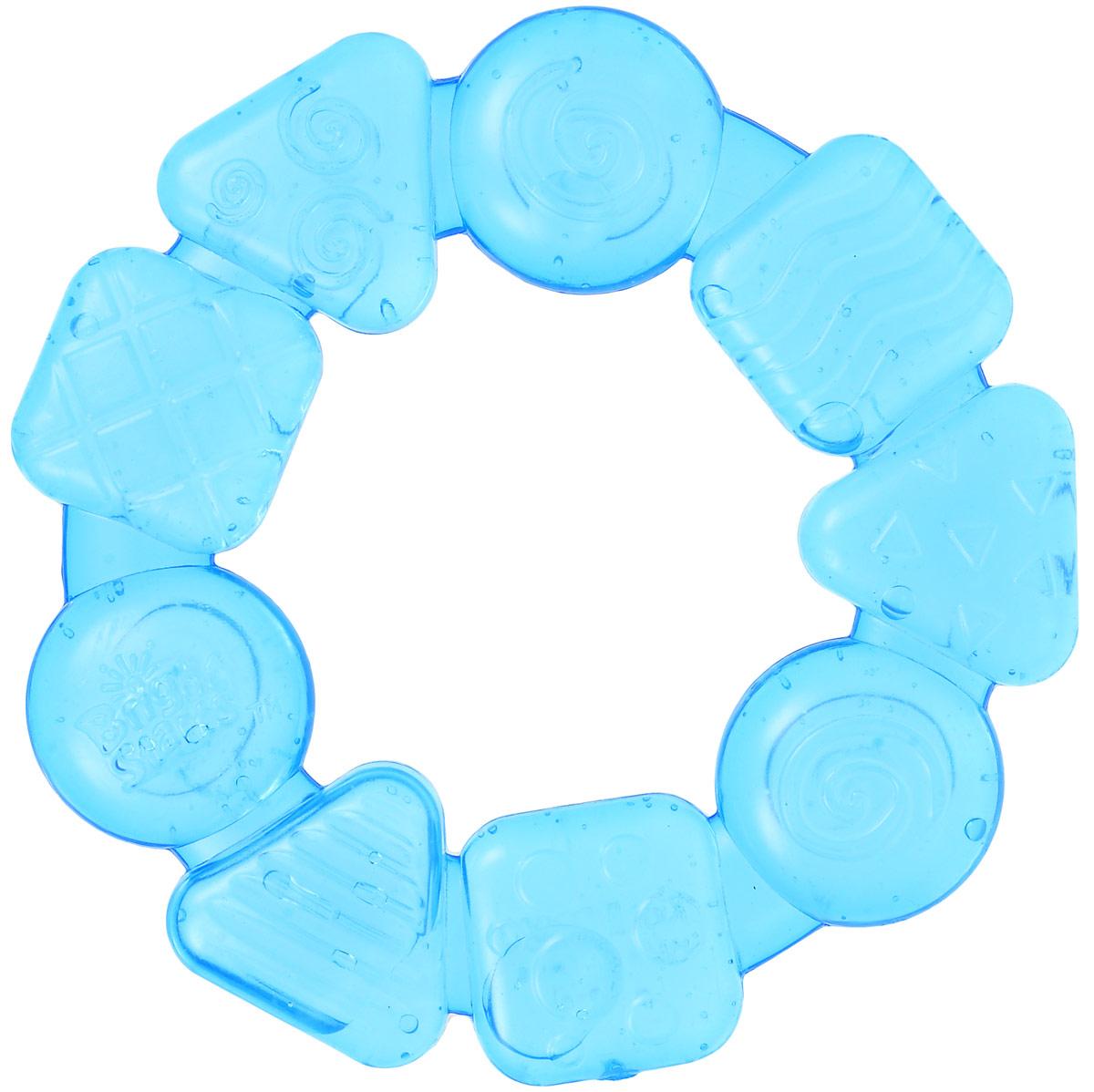 Bright Starts Прорезыватель Карамельный круг цвет синий