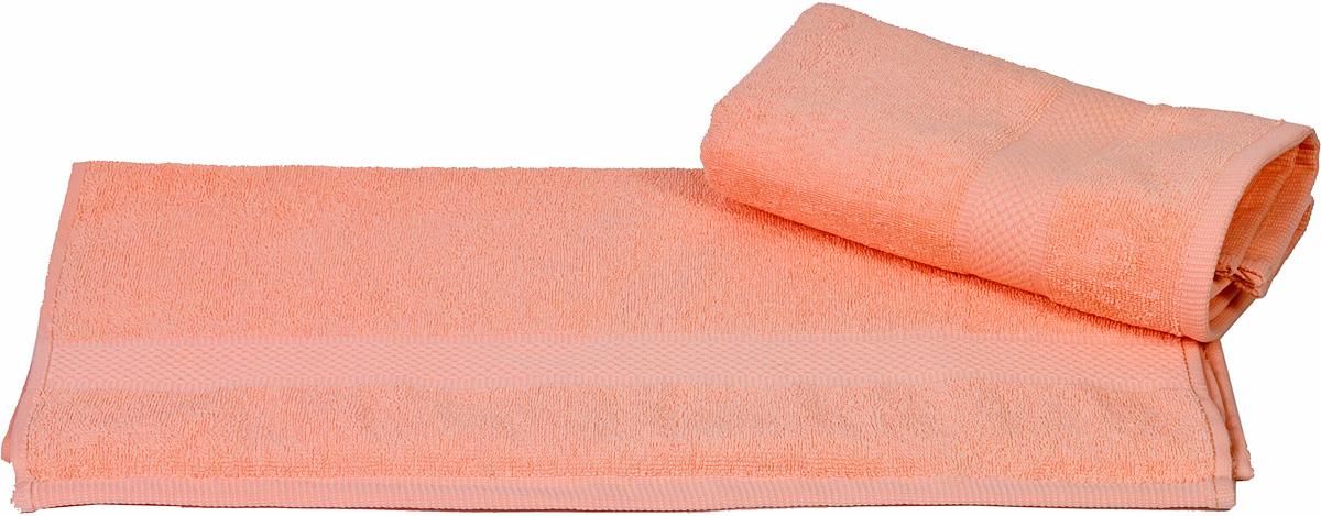 Полотенце Hobby Home Collection Beril, цвет: персиковый, 100 х 150 см1501000385Полотенце Hobby Home Collection Beril выполнено из 100% хлопка. Изделие отлично впитывает влагу, быстро сохнет, сохраняет яркость цвета и не теряет форму даже после многократных стирок. Такое полотенце очень практично и неприхотливо в уходе. А простой, но стильный дизайн полотенца позволит ему вписаться даже в классический интерьер ванной комнаты.