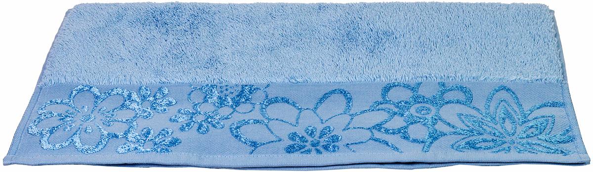 Полотенце махровое Hobby Home Collection Dora, цвет: светло-голубой, 50х90 см1501000440Полотенца марки Хобби уникальны и разрабатываются эксклюзивно для данной марки. При создании коллекции используются самые высокотехнологичные ткацкие приемы. Дизайнеры марки украшают вещи изысканным декором. Коллекция линии соответствует актуальным тенденциям, диктуемым мировыми подиумами и модой в области домашнего текстиля.