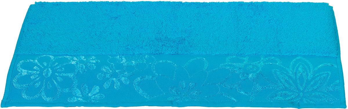 Полотенце Hobby Home Collection Dora, цвет: бирюзовый, 70 х 140 см1501000447Полотенце Hobby Home Collection Dora выполнено из 100% хлопка. Изделие отлично впитывает влагу, быстро сохнет, сохраняет яркость цвета и не теряет форму даже после многократных стирок. Такое полотенце очень практично и неприхотливо в уходе. А простой, но стильный дизайн полотенца позволит ему вписаться даже в классический интерьер ванной комнаты.