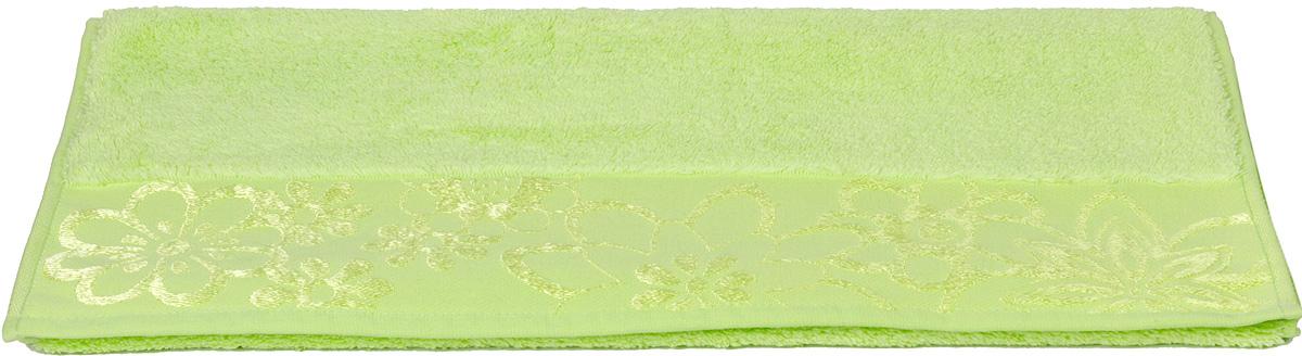 Полотенце махровое Hobby Home Collection Dora, цвет: зеленый, 70х140 см1501000449Полотенца марки Хобби уникальны и разрабатываются эксклюзивно для данной марки. При создании коллекции используются самые высокотехнологичные ткацкие приемы. Дизайнеры марки украшают вещи изысканным декором. Коллекция линии соответствует актуальным тенденциям, диктуемым мировыми подиумами и модой в области домашнего текстиля.