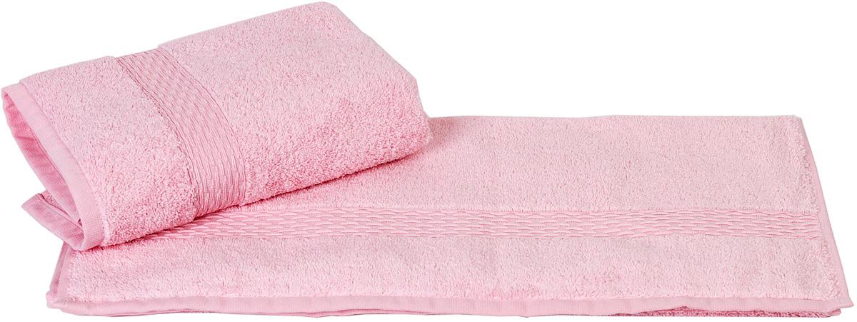 Полотенце Hobby Home Collection Firuze, цвет: розовый, 50 х 90 см1501000460Полотенце Hobby Home Collection Firuze выполнено из 100% хлопка. Изделие отлично впитывает влагу, быстро сохнет, сохраняет яркость цвета и не теряет форму даже после многократных стирок. Такое полотенце очень практично и неприхотливо в уходе. А простой, но стильный дизайн полотенца позволит ему вписаться даже в классический интерьер ванной комнаты.