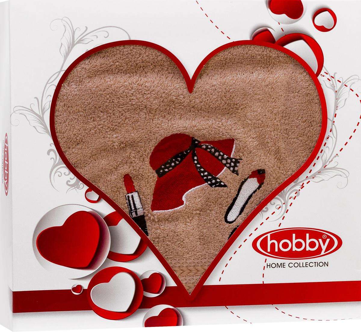 Полотенце Hobby Home Collection Love, 50 х 90 см. 15010005021501000502Полотенце Hobby Home Collection Love выполнено из 100% хлопка. Изделие отлично впитывает влагу, быстро сохнет, сохраняет яркость цвета и не теряет форму даже после многократных стирок. Такое полотенце очень практично и неприхотливо в уходе. А простой, но стильный дизайн полотенца позволит ему вписаться даже в классический интерьер ванной комнаты.
