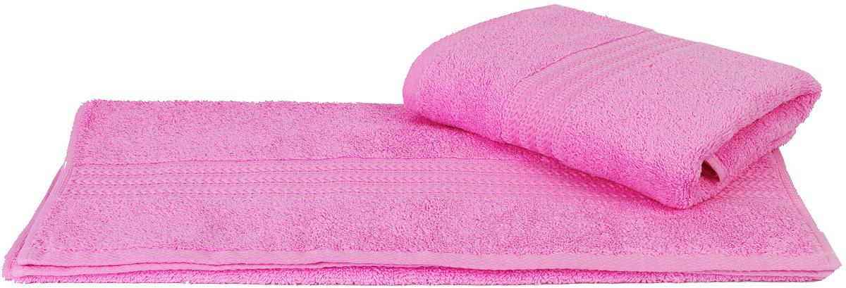 Полотенце Hobby Home Collection Rainbow, цвет: розовый, 50 х 90 см1501000532Полотенце Hobby Home Collection Rainbow выполнено из 100% хлопка. Изделие отлично впитывает влагу, быстро сохнет, сохраняет яркость цвета и не теряет форму даже после многократных стирок. Такое полотенце очень практично и неприхотливо в уходе. А простой, но стильный дизайн полотенца позволит ему вписаться даже в классический интерьер ванной комнаты.