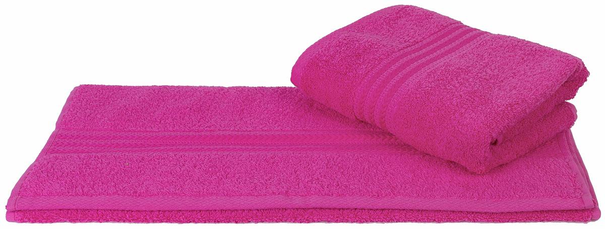 Полотенце Hobby Home Collection Rainbow, цвет: темно-розовый, 50 х 90 см1501000546Полотенце Hobby Home Collection Rainbow выполнено из 100% хлопка. Изделие отлично впитывает влагу, быстро сохнет, сохраняет яркость цвета и не теряет форму даже после многократных стирок. Такое полотенце очень практично и неприхотливо в уходе. А простой, но стильный дизайн полотенца позволит ему вписаться даже в классический интерьер ванной комнаты.