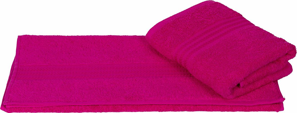 Полотенце Hobby Home Collection Rainbow, цвет: фуксия, 50 х 90 см1501000549Полотенце Hobby Home Collection Rainbow выполнено из 100% хлопка. Изделие отлично впитывает влагу, быстро сохнет, сохраняет яркость цвета и не теряет форму даже после многократных стирок. Такое полотенце очень практично и неприхотливо в уходе. А простой, но стильный дизайн полотенца позволит ему вписаться даже в классический интерьер ванной комнаты.