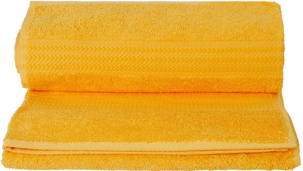 Полотенце Hobby Home Collection Rainbow, цвет: темно-желтый, 70 х 140 см1501000574Полотенце Hobby Home Collection Rainbow выполнено из 100% хлопка. Изделие отлично впитывает влагу, быстро сохнет, сохраняет яркость цвета и не теряет форму даже после многократных стирок. Такое полотенце очень практично и неприхотливо в уходе. А простой, но стильный дизайн полотенца позволит ему вписаться даже в классический интерьер ванной комнаты.