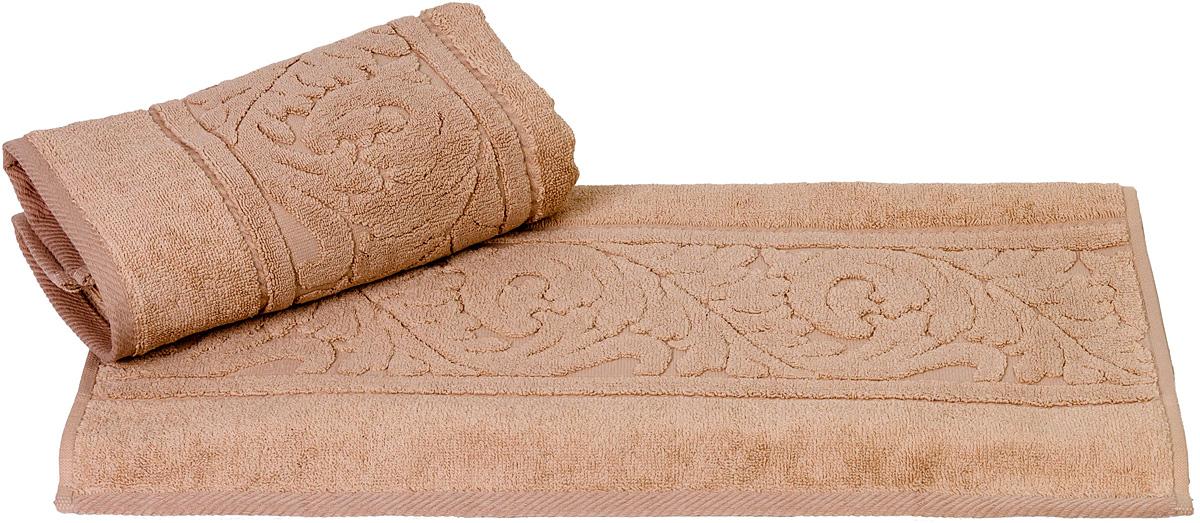 Полотенце Hobby Home Collection Sultan, цвет: бежевый, 70 х 140 см1501000591Полотенце Hobby Home Collection Sultan выполнено из 100% хлопка. Изделие отлично впитывает влагу, быстро сохнет, сохраняет яркость цвета и не теряет форму даже после многократных стирок. Такое полотенце очень практично и неприхотливо в уходе. А простой, но стильный дизайн полотенца позволит ему вписаться даже в классический интерьер ванной комнаты.