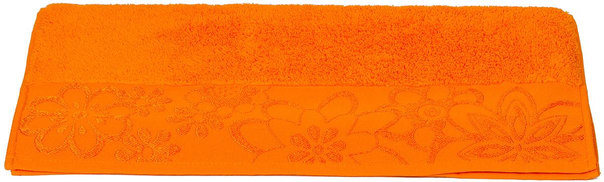 Полотенце Hobby Home Collection Dora, цвет: оранжевый, 30 х 50 см1501000756Полотенце Hobby Home Collection Dora выполнено из 100% хлопка. Изделие отлично впитывает влагу, быстро сохнет, сохраняет яркость цвета и не теряет форму даже после многократных стирок. Такое полотенце очень практично и неприхотливо в уходе. А простой, но стильный дизайн полотенца позволит ему вписаться даже в классический интерьер ванной комнаты.
