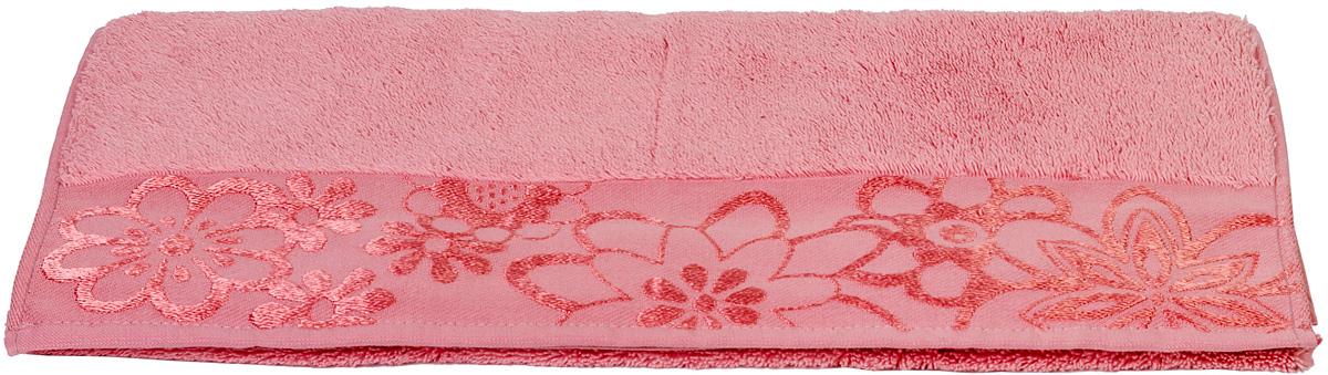 Полотенце Hobby Home Collection Dora, цвет: розовый, 30 х 50 см1501000757Полотенце Hobby Home Collection Dora выполнено из 100% хлопка. Изделие отлично впитывает влагу, быстро сохнет, сохраняет яркость цвета и не теряет форму даже после многократных стирок. Такое полотенце очень практично и неприхотливо в уходе. А простой, но стильный дизайн полотенца позволит ему вписаться даже в классический интерьер ванной комнаты.