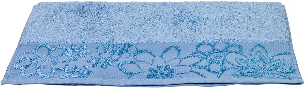 Полотенце Hobby Home Collection Dora, цвет: светло-голубой, 30 х 50 см1501000758Полотенце Hobby Home Collection Dora выполнено из 100% хлопка. Изделие отлично впитывает влагу, быстро сохнет, сохраняет яркость цвета и не теряет форму даже после многократных стирок. Такое полотенце очень практично и неприхотливо в уходе. А простой, но стильный дизайн полотенца позволит ему вписаться даже в классический интерьер ванной комнаты.