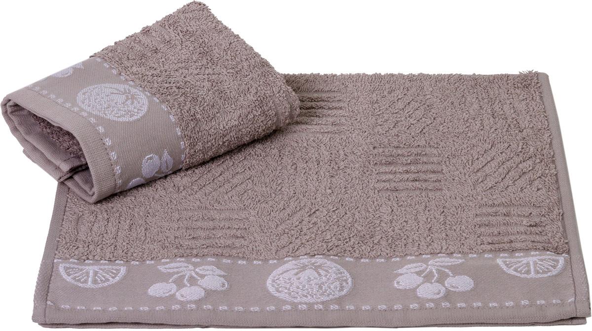 """Полотенце кухонное Hobby Home Collection """"Meyve Bahcesi"""", цвет: серый, 30 х 50 см"""