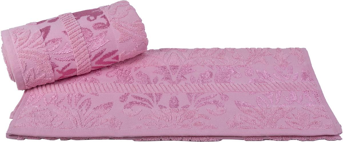 Полотенце Hobby Home Collection Versal, цвет: розовый, 70 х 140 см1607000106Полотенце Hobby Home Collection Versal выполнено из 100% хлопка. Изделие отлично впитывает влагу, быстро сохнет, сохраняет яркость цвета и не теряет форму даже после многократных стирок. Такое полотенце очень практично и неприхотливо в уходе. А простой, но стильный дизайн полотенца позволит ему вписаться даже в классический интерьер ванной комнаты.