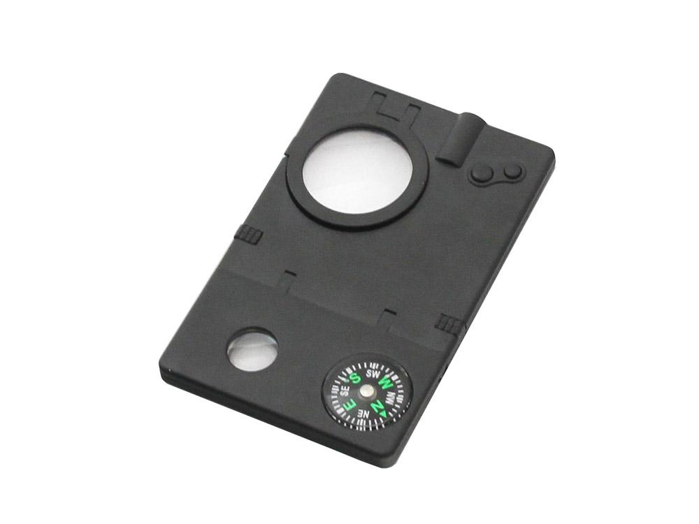 Набор Veber 8 в 1, цвет: черный22687Набор 8 в 1. В набор входит лупа с увеличением 3x, компас, 2 авторучки (одна с невидимыми чернилами), фонарик,УФ-фонарик, лазерная указка, телескоп. ОПИСАНИЕ Многофункциональный набор Veber IT005 8 в 1 Многофункциональный набор 8 в 1, включающий: Лупа с увеличением 3x Компас 2 авторучки (одна с невидимыми чернилами) Cветодиодный фонарик УФ фонарик (для невидимых чернил) Лазерная указка Телескоп Батарейки 3хAG10 в комплекте. Технические характеристики Увеличение, крат 3 Диаметр линзы, мм 25 Материал линзы пластик Материал корпуса пластик Габаритные размеры, мм 90x58x7 Вес, г 29