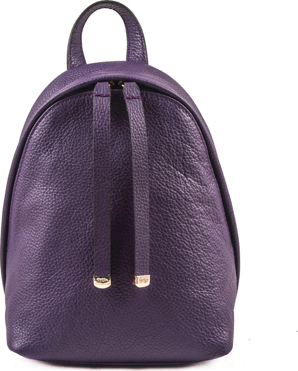 Рюкзак женский Frija, цвет: фиолетовый. 21-0347-1621-0347-16Модный рюкзак выполнен из натуральной кожи достойно дополнит строгий или повседневный образ. Благородные цвета, удобство в ношении, вместительность – главные преимущества модели. Имеется один вместительный отдел, внутри которого карман на молнии. Рюкзак закрывается закрывается на двустороннюю молнию, носится в руке или одевается на плечи. Хорошо держит форму.