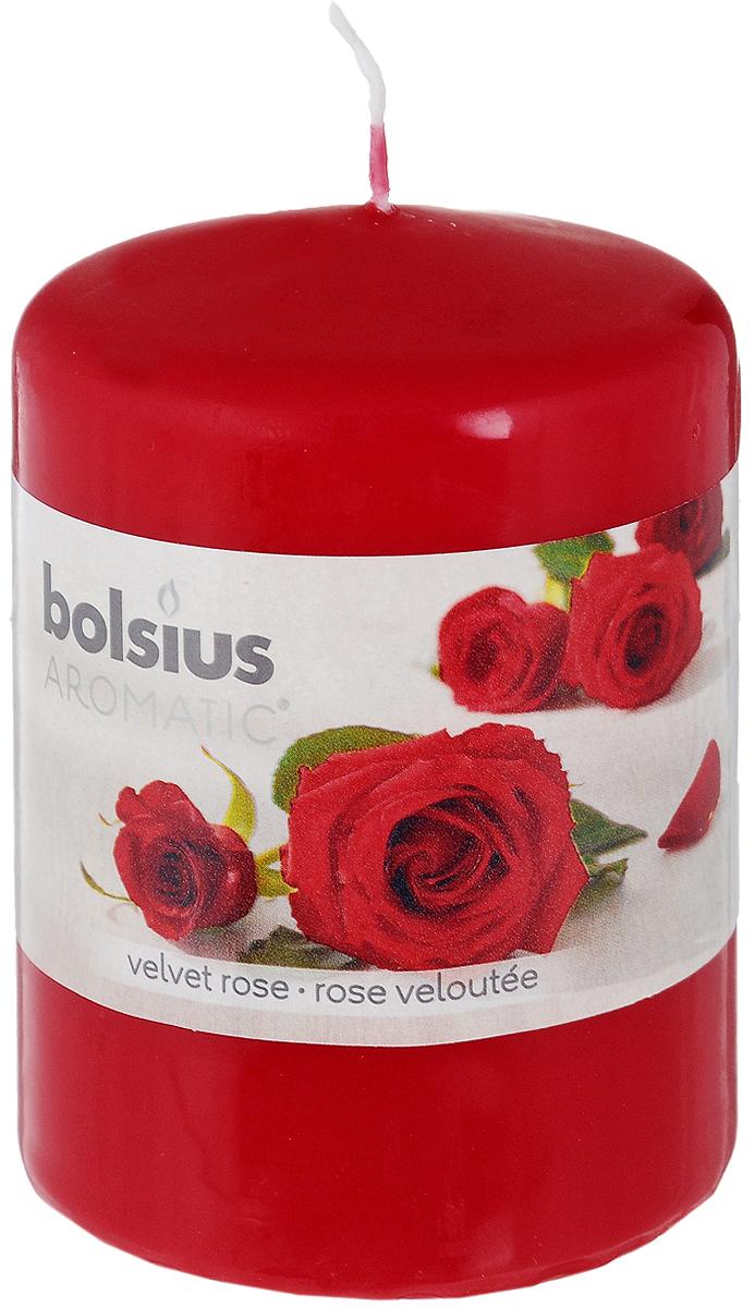 Свеча ароматическая Bolsius Роза, 6 х 6 х 7,3 см103626490181Свеча ароматическая Bolsius Роза создаст в доме атмосферу тепла и уюта. Свеча приятно смотрится в интерьере, она безопасна и удобна в использовании. Свеча создаст приятное мерцание, а сладкий манящий аромат окутает вас и подарит приятные ощущения.