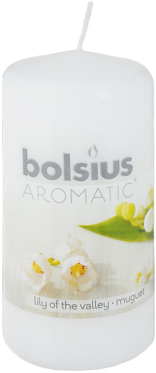 Свеча ароматическая Bolsius Ландыш, 6 х 6 х 11,5 см103626640103Свеча ароматическая Bolsius Ландыш создаст в доме атмосферу тепла и уюта. Свеча приятно смотрится в интерьере, она безопасна и удобна в использовании. Свеча создаст приятное мерцание, а сладкий манящий аромат окутает вас и подарит приятные ощущения.