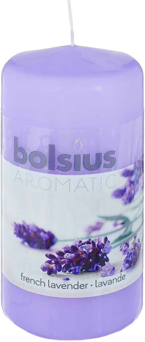 Свеча ароматическая Bolsius Лаванда, 6 х 6 х 11,5 см103626640177Свеча ароматическая Bolsius Лаванда создаст в доме атмосферу тепла и уюта. Свеча приятно смотрится в интерьере, она безопасна и удобна в использовании. Свеча создаст приятное мерцание, а сладкий манящий аромат окутает вас и подарит приятные ощущения.