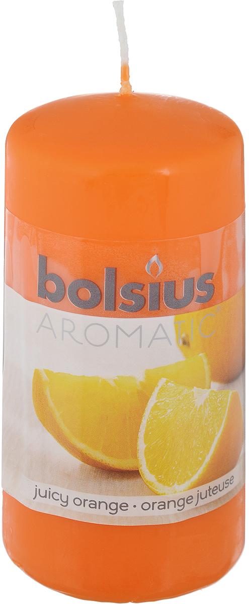 Свеча ароматическая Bolsius Апельсин, 6 х 6 х 11,5 см103626640184Свеча ароматическая Bolsius Апельсин создаст в доме атмосферу тепла и уюта. Свеча приятно смотрится в интерьере, она безопасна и удобна в использовании. Свеча создаст приятное мерцание, а сладкий манящий аромат окутает вас и подарит приятные ощущения.