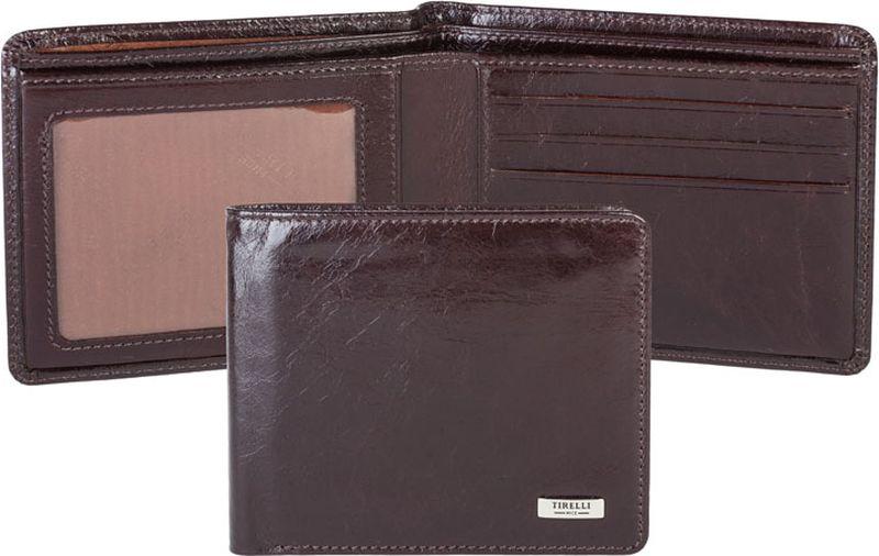 Портмоне мужское Tirelli, цвет: шоколадный. 15-315-1015-315-10