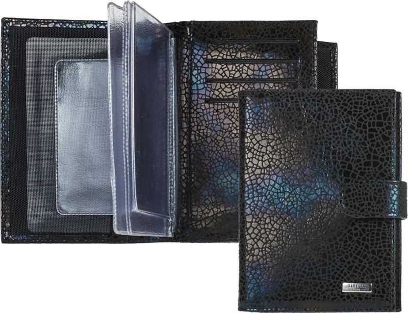 Обложка для автодокументов женская Tirelli, цвет: черный. 15-331-3015-331-30Бумажник водителя изготовлен из натуральной кожи, закрывается хлястиком на кнопку, раскладывается пополам. Внутри содержится съемный блок из 5 прозрачных пластиковых файлов для автодокументов, четыре кармашка для пластиковых карт, открытый карман из кожи. Имеется специальное отделение для паспорта. Стильный бумажник не только защитит ваши документы, но и станет стильным аксессуаром, подчеркивающим ваш образ.