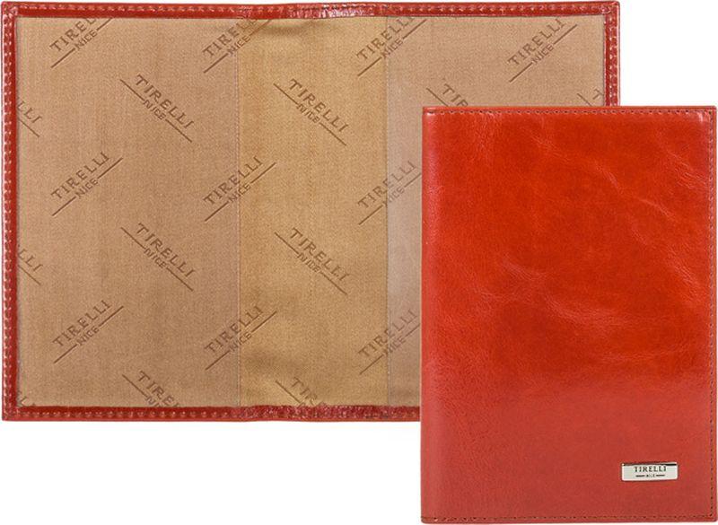 Обложка для паспорта женская Tirelli, цвет: коралловый. 15-333-2515-333-25Обложка для паспорта, выполненная из натуральной кожи. Такая обложка не только поможет сохранить внешний вид ваших документов и защитит их от повреждений, но и станет стильным аксессуаром, идеально подходящим вашему образу. Яркая и оригинальная обложка подчеркнет вашу индивидуальность и изысканный вкус. Обложка для паспорта стильного дизайна может быть достойным и оригинальным подарком.