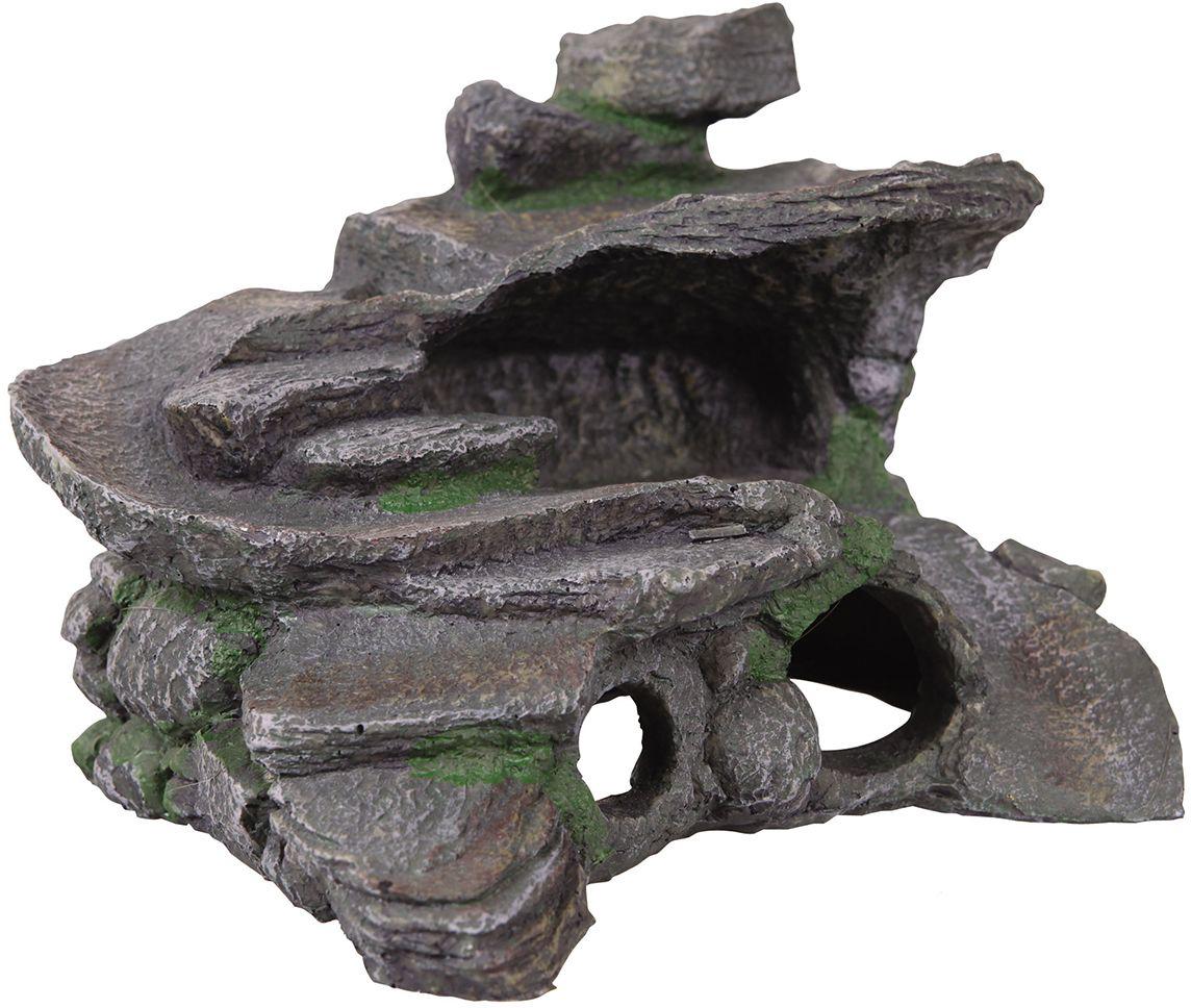Декорация для аквариума Dezzie Остров, для черепах, 29 х 25 х 20 см5602302Декорация для водных черепах Dezzie Остров выполнена из пластика. Для многих водных черепах появления грота-островка в жилище является огромной радостью и необходимостью. Водные черепахи нуждаются в обогреваемом участке суши, который позволяет им отдохнуть, погреться и набраться сил для водных путешествий. Такая декорация сделает общую композицию аквариума интересной и незабываемой. Размер декорации: 29 х 25 х 20 см.