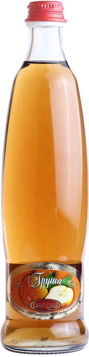 Darbas Груша лимонад, 0,5 л4850007020145Безалкогольный газированный напиток. Поднимающая настроение груша