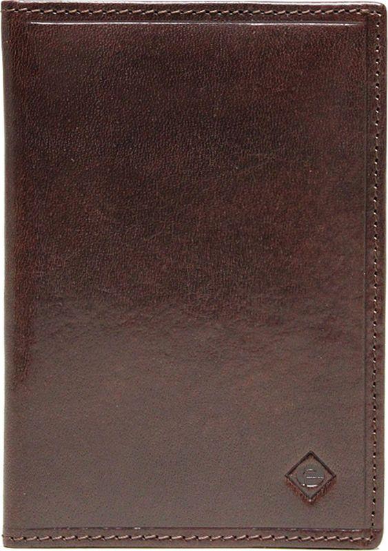 Обложка для паспорта Edmins, цвет: темно-коричневый. 13843 ED ABA13843 ED ABA d.brownОбложка для паспорта Edmins выполнена из натуральной лаковой кожи и оформлена тиснением в виде символики бренда. Подкладка изготовлена из полиэстера. Изделие раскладывается пополам. Внутри размещены два накладных кармашка из кожи. В коллекциях кожгалантереи Edmins удачно сочетаются итальянская классика и шведский прагматизм, новаторство молодых дизайнеров и работы именитых мастеров, строгая цветовая гамма и смелые эксперименты с цветом. Изделия Edmins, разработанные в Италии, отличает высокое качество кожи, прекрасная износостойкость и актуальность коллекций. Изделие упаковано в фирменную коробку.