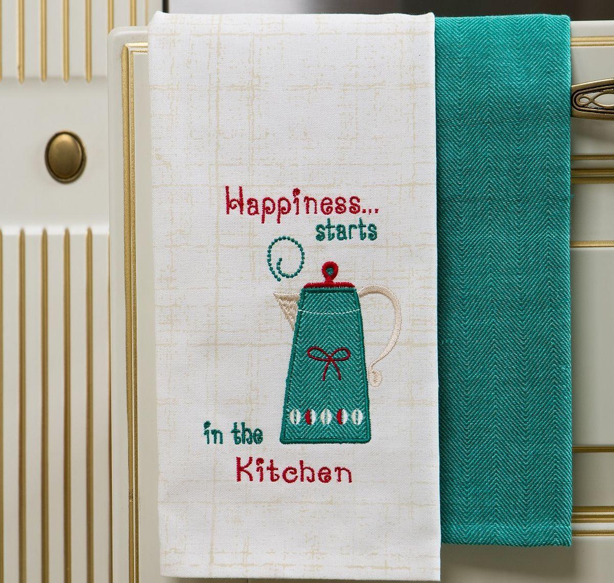 Набор кухонных полотенец Arloni Утренний кофе, 40 х 60 см, 2 шт4054.3