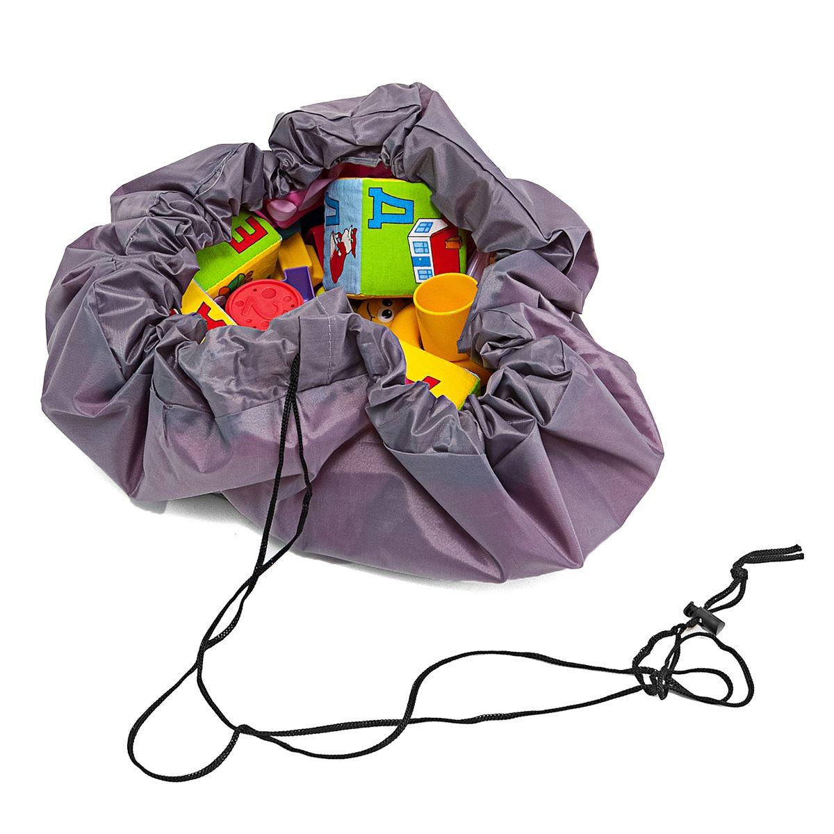 Сумка-коврик Homsu Лужайка, цвет: розовый, 80х80 смR-104Сумка-коврик это оригинальный способ хранения и транспортировки детских игрушек. В разложенном состоянии - это поле для игры, а когда нужно собрать игрушки, он затягивается на шнурок и превращается в удобную сумку. Выполнен из прочного, но мягкого канваса. Размер изделия: 80х80см