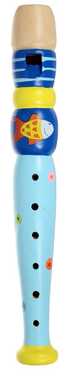 Мир деревянных игрушек Дудочка РыбкаД216_синий голубой желтыйМузыкальная игрушка Мир деревянных игрушек Дудочка Рыбкапредставляет собой любопытный для малыша духовой инструмент, играть на котором можно с помощью закрывания в соответствующей последовательности дырочек. Дудочка издает приятный звук, который непременно понравится ребенку. С помощью этого инструмента вы сможете устроить веселый концерт и порадовать своих родных и друзей. Музыкальная игрушка поможет вашему ребенку развить звуковое восприятие, концентрацию внимания, а также привить малышу любовь к музыке. Дудочка изготовлена из натурального дерева.