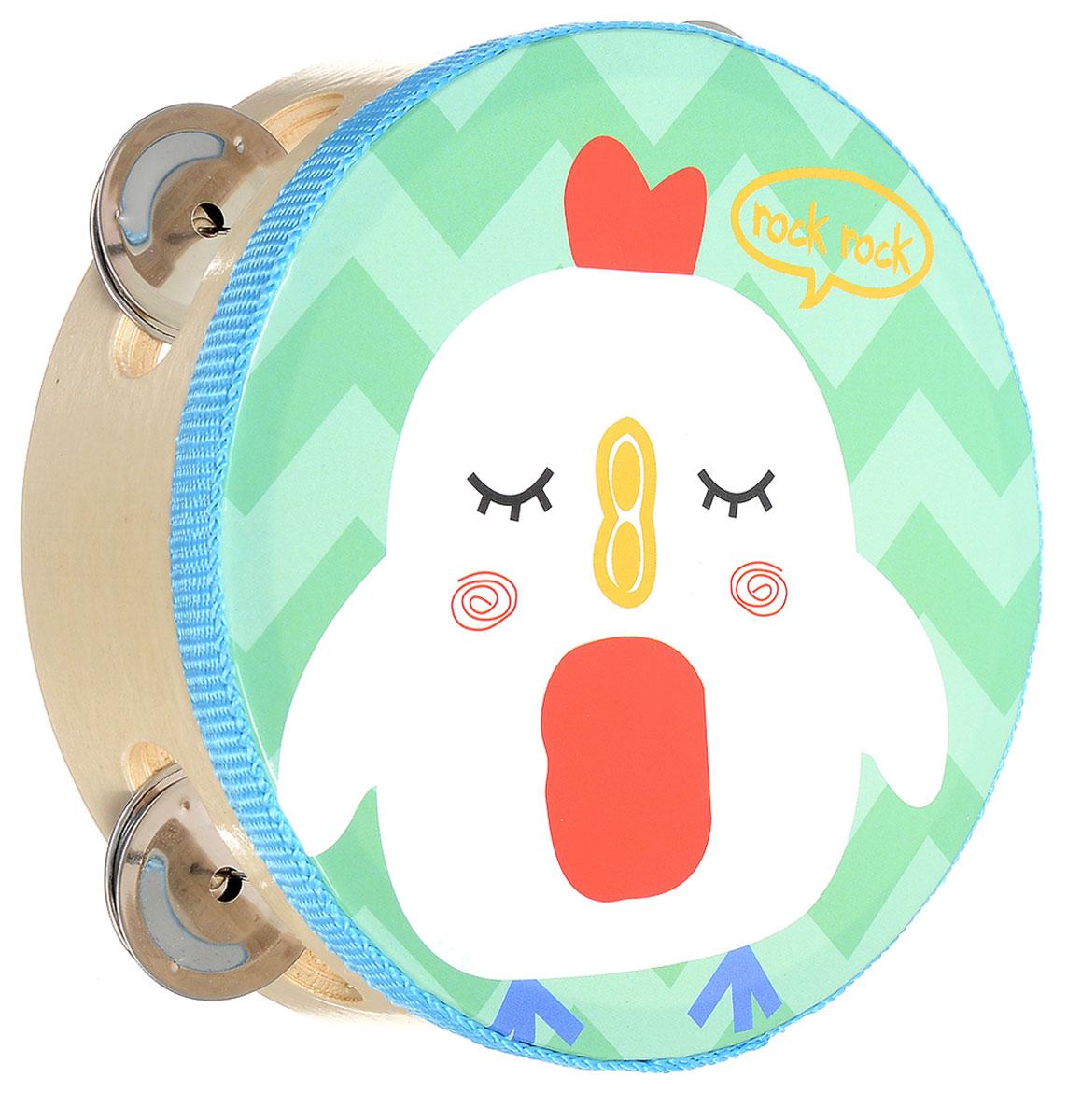 Мир деревянных игрушек Бубен ЦыпленокД212_голубой, бирюзовыйБубен Мир деревянных игрушек Цыпленок состоит из деревянного корпуса с ярким рисунком в виде забавного цыпленка и железных дисков, звенящих при ударе и движении инструмента. Бубен издает приятный громкий звон, который непременно понравится ребенку. С помощью этого инструмента вы сможете устроить веселый концерт и порадовать своих родных и друзей. Бубен поможет вашему ребенку развить чувство ритма, а также привить малышу любовь к музыке.