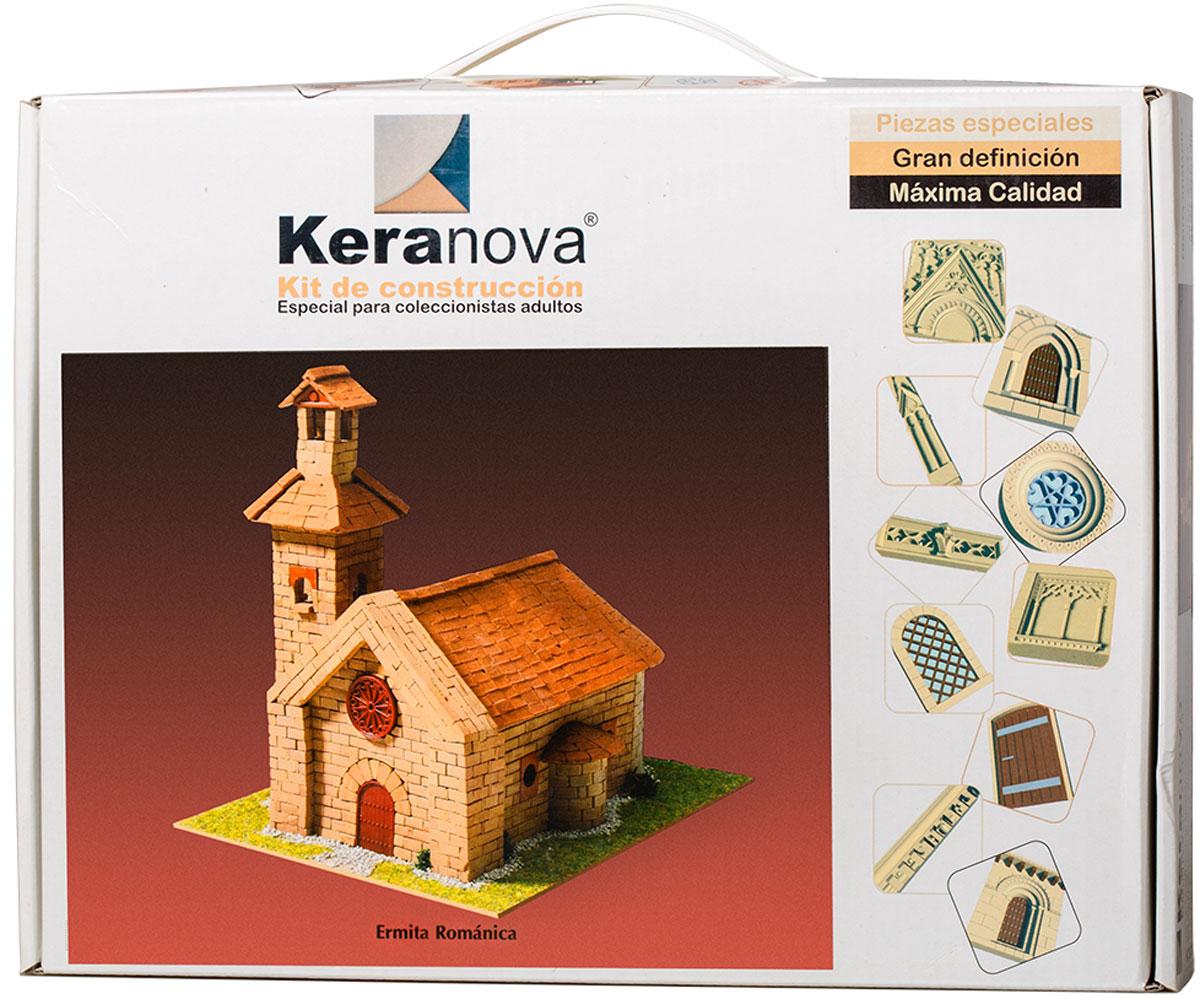 Keranova Конструктор Романский монастырь30334Наборы для строительства Keranova позволяют почувствовать себя создателем архитектурных сооружений в полной мере. Средневековые замки и домики, башни, мельницы, береговые маяки – вы можете построить сами и украсить миниатюру по своему желанию. Некоторые модели выполнены в стандартном масштабе и являются точной копией оригинала. В ассортименте представлены модели с разным уровнем сложности. Высокое качество натуральных материалов, достоверность моделей, а также возможность создания миниатюры по своему проекту создают уникальную возможность для реализации творческого начала вне зависимости от возраста и опыта. В состав набора входят: - каркас модели из бумаги, - основа для миниатюры из фанеры, - набор кирпичиков и черепицы из глины разного размера и разной фактуры (8 температурных режимов обжига кирпичиков), - имитация грунта (песок), имитация растительности (исландский мох – материал устойчивый к естественному разрушению), - имитация украшений фасадов и...