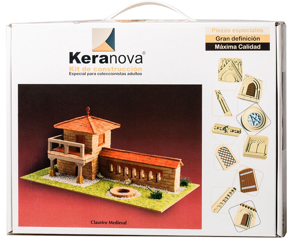Keranova Конструктор Монастырский дворик30332Наборы для строительства Keranova позволяют почувствовать себя создателем архитектурных сооружений в полной мере. Средневековые замки и домики, башни, мельницы, береговые маяки – вы можете построить сами и украсить миниатюру по своему желанию. Некоторые модели выполнены в стандартном масштабе и являются точной копией оригинала. В ассортименте представлены модели с разным уровнем сложности. Высокое качество натуральных материалов, достоверность моделей, а также возможность создания миниатюры по своему проекту создают уникальную возможность для реализации творческого начала вне зависимости от возраста и опыта. В состав набора входят: - каркас модели из бумаги, - основа для миниатюры из фанеры, - набор кирпичиков и черепицы из глины разного размера и разной фактуры (8 температурных режимов обжига кирпичиков), - имитация грунта (песок), имитация растительности (исландский мох – материал устойчивый к естественному разрушению), - имитация украшений фасадов и...