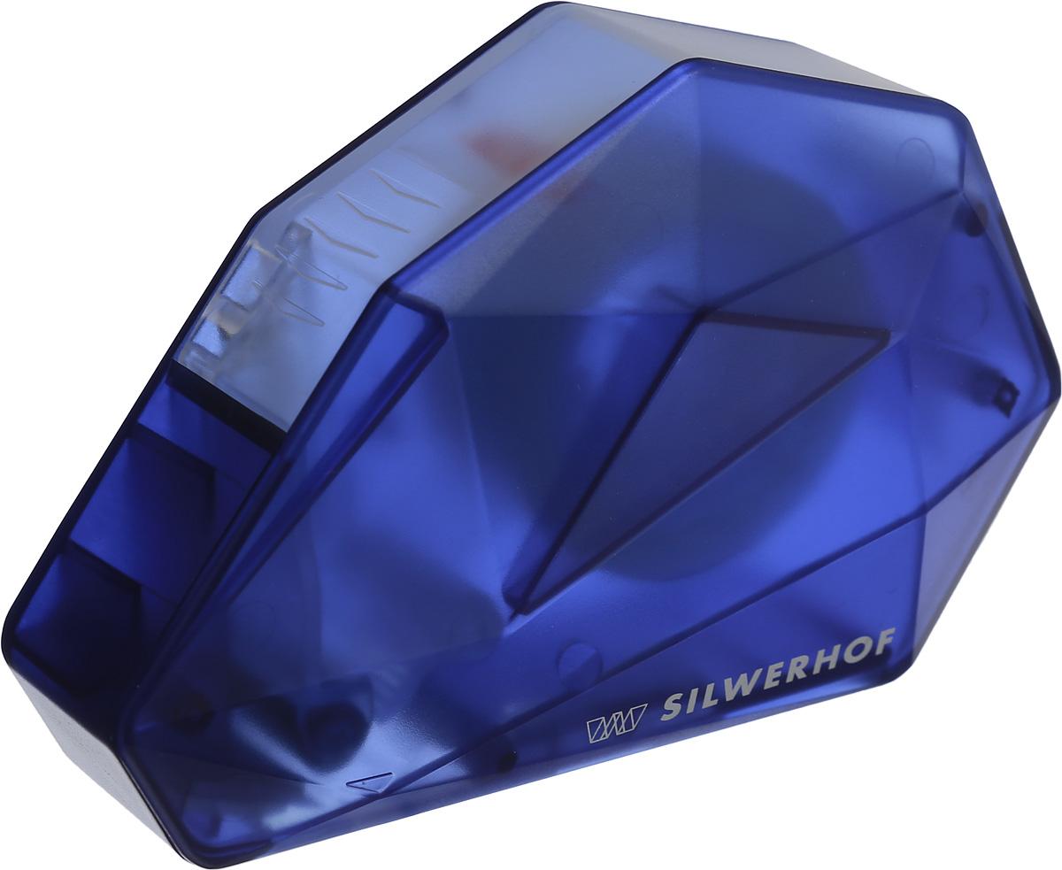 Silwerhof Диспенсер для клейкой ленты Iceberg цвет синий 18 мм