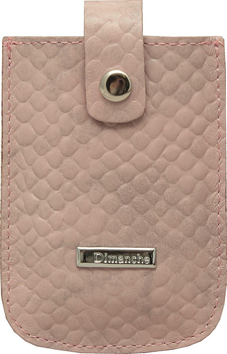Визитница женская Dimanche Футляр для дисконтных карт розовый Облака арт.283/59, цвет: розовый. 283/59283/59Удобный компактный футляр для самых необходимых дисконтных или банковских карт. Движущийся хлястик позволяет быстро достать карточки.