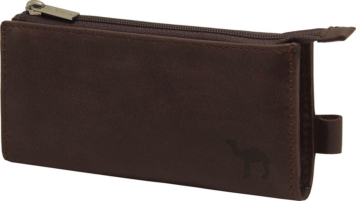 Ключница Dimanche Camel, цвет: коричневый. 318/К318/КМягкая удобная вместительная ключница. Внутри кольцо для ключей, на подкладке, закрывается на молнию. На задней стенке карман на молнии.