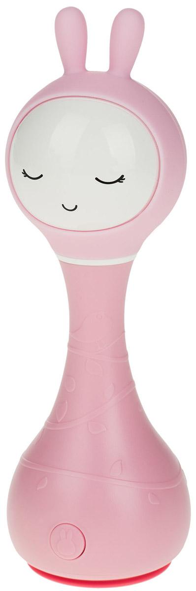 Alilo Музыкальная игрушка-ночник Зайка R1 цвет розовый60908Умный зайчик Alilo R1 очень сообразительный. Он может играть разную удивительную музыку, рассказывать сказки, светиться в темноте, а также познакомить вашего малыша с окружающими цветами, которые делают его жизнь яркой. Умный зайчик Alilo R1 – это ещё и погремушка. Потрясите его – он начнёт воспроизводить мелодию, нажмите «СТОП» через две секунды после начала проигрывания и снова потрясите – мелодия изменится. Прочная конструкция (упадёт - не сломается), без острых краёв Мягкие силиконовые ушки могут светиться 5 часов непрерывной игры без подзарядки! Зарядка через USB (кабель прилагается) Загруженный контент: 16 песен и 16 сказок на русском языке 5 успокаивающих звуков для крепкого сна ребёнка (белый шум) 66 рингтонов для погремушки Яркая инструкция на русском и гарантия 30 дней Технология распознавания цвета: поставьте зайчика на предмет и слегка надавите. Ушки Умного зайчика засветятся цветом поверхности, а также он скажет вам, что это за...