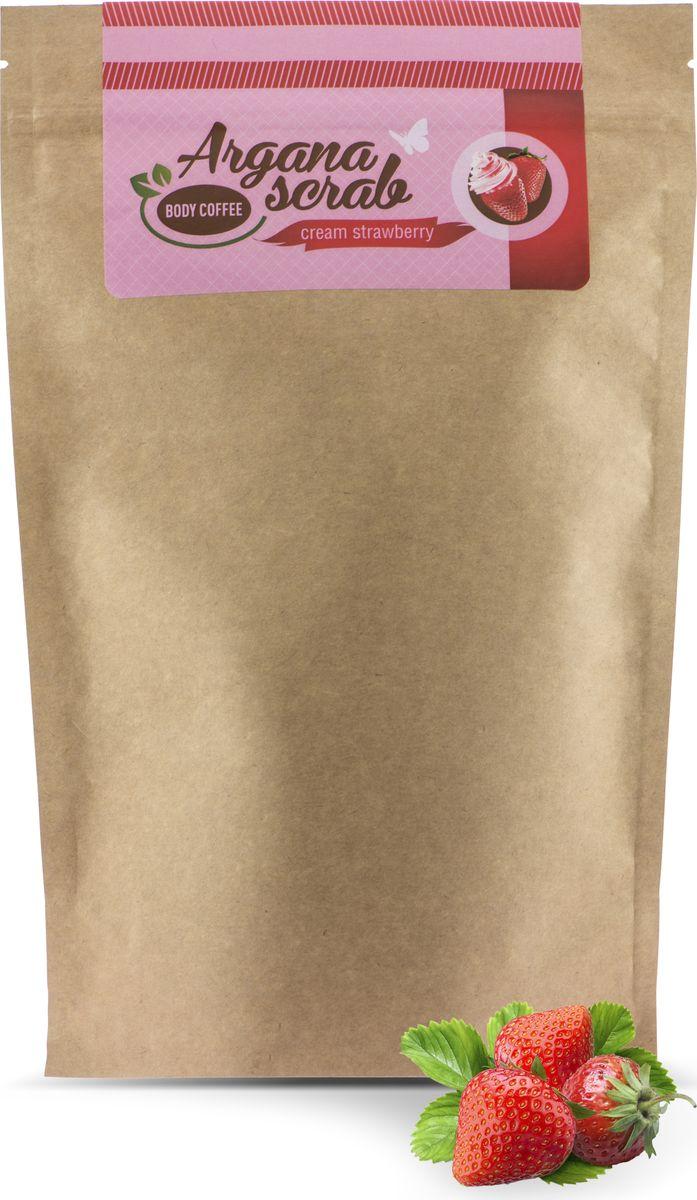 Huilargan Скраб кофейный, клубника со сливками, 200 гр2000000012551Арагновый скраб BodyCoffee Cream Strawberry. Кофе для тела пробудит вашу кожу волшебным ароматом свежезаваренного кофе, наполнит бодростью, подарит тонус и заряд энергии на весь день. Перед вами уникальный скраб, который стал уже всеми любим, в составе которого находятся настоящие сливки, они прекрасно увлажняют, питают, смягчают, насыщают витаминами кожу и клубника, фруктовые кислоты которой обладают прекрасным омолаживающим эффектом. Аромат этого скраба не оставит никого равнодушным. Наш скраб состоит исключительно из органических компонентов, все ингредиенты натуральные и получены природным путем, поэтому наш продукт так эффективен.
