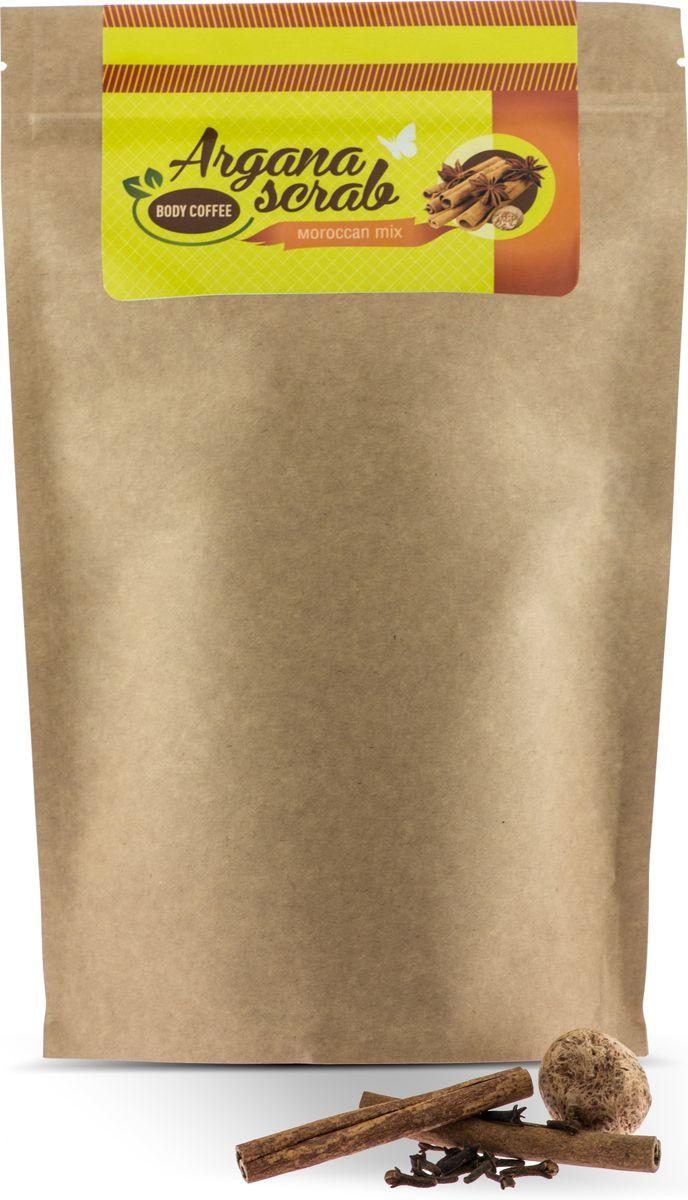 Huilargan Скраб кофейный, марокканский микс, 200 гр2000000012575Вы когда-нибудь пили настоящий марокканский чай? Это потрясающий напиток, который не только потрясающе вкусный, но и невероятно полезен. Мы объединили все полезные свойства марокканского чая и вашего любимого кофейного скраба. И сейчас в ваших руках лимитированный выпуск Body Coffee со вкусом и полезными свойствами марокканского чая. Корица - активный жиросжигающий компонент, активирует клеточное дыхание. Гвоздика - стимулирует кровообращение, обладает антицелюлитным свойством, улучшает кровообращение и укрепляет иммунитет. Мята - выводит токсины, успокаивает нервную систему, подтягивает кожу. Лайм - является природным омолаживающим средством, создает эффект лифтинга и пилинга за счет содержания фруктовых кислот. Кофе для тела пробудит вашу кожу волшебным ароматом свежезаваренного кофе, наполнит бодростью, подарит тонус и заряд энергии на весь день. Аромат этого скраба не оставит никого равнодушным.