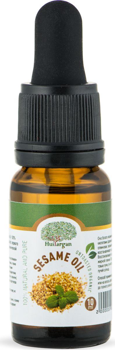 Huilargan Кунжутное масло органическое, 10 мл2000000012629Кунжутное масло известно своими восстанавливающими и смягчающими свойствами, и также обладает антиоксидантными свойствами благодаря своему богатому антиоксидантному составу (витамин. Е, селен, сезамолин, лецитин), что делает его идеальным средством для ухода за зрелой кожи. Масло кунжута быстро впитывается в кожу, не оставляя жирной пленки. Содержит магний, железо, фосфор, цинк, а также большое количество кальция, так же содержит витамины D, A, B1, B3, C. Оно богато незаменимыми жирными кислотами (арахиновая, линолевая, олеиновая, пальмитиновая и стеариновая), восстанавливает и смягчает ткани кожи. Восстанавливает и питает кожу, не оставляя жирной пленки. Поглощает ультрафиолетовые лучи, он используется для защиты от лучей солнца.