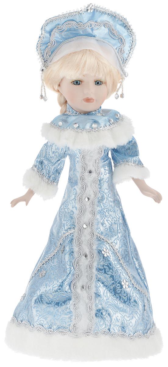 Фигурка новогодняя ESTRO Снегурочка, цвет: голубой, белый, высота 40 смC21-168290Декоративная фигурка ESTRO Снегурочка выполнена из высококачественных материалов в оригинальном стиле. Фигурка выполнена в виде Снегурочки. Уютная и милая интерьерная игрушка предназначена для взрослых и детей, для игр и украшения новогодней елки, да и просто, для создания праздничной атмосферы в интерьере! Фигурка прекрасно украсит ваш дом к празднику, а в остальные дни с ней с удовольствием будут играть дети. Оригинальный дизайн и красочное исполнение создадут праздничное настроение. Фигурка создана вручную, неповторима и оригинальна. Порадуйте своих друзей и близких этим замечательным подарком!