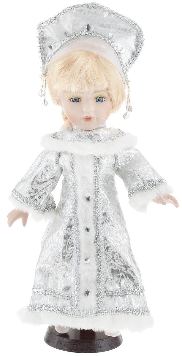 Фигурка новогодняя ESTRO Снегурочка, цвет: серебристый, белый, высота 30 смC21-128228Декоративная фигурка ESTRO Снегурочка выполнена из высококачественных материалов в оригинальном стиле. Фигурка выполнена в виде Снегурочки. Уютная и милая интерьерная игрушка предназначена для взрослых и детей, для игр и украшения новогодней елки, да и просто, для создания праздничной атмосферы в интерьере! Фигурка прекрасно украсит ваш дом к празднику, а в остальные дни с ней с удовольствием будут играть дети. Оригинальный дизайн и красочное исполнение создадут праздничное настроение. Фигурка создана вручную, неповторима и оригинальна. Порадуйте своих друзей и близких этим замечательным подарком!