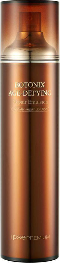 Ipse Антивозрастная восстанавливающая эмульсия, 120 мл928050Восстанавливающая эмульсия для повышения упругости кожи BOTONIX содержит в себе основные компоненты, помогающие сохранить необходимое увлажнение и сияние сухой возрастной коже. Экстракт красного женьшеня делает вашу кожу более эластичной и ровной. * Экстракт морского винограда (запатентованный ингредиент) – Повышение упругости кожи * Snap-8 (Компонент Ботокса) - стимулирует выработку коллагена *Экстракт энзимов красного женьшеня ( запатентованный ингредиент ) – клеточный рост