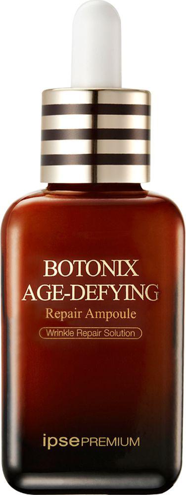 Ipse Антивозрастная восстанавливающая сыворотка, 60 мл928067Сыворотка для повышения упругости и восстановления BOTONIX – это высококонцентрированный препарат, который оказывает впечатляющий эффект на кожу. Чистое золото 24 карата сохраняет вашу кожу здоровой и увлажненной. Экстракт женьшеня и snap-8 и аденозин выравнивают кожу и сокращают глубокие и мимические морщинки.