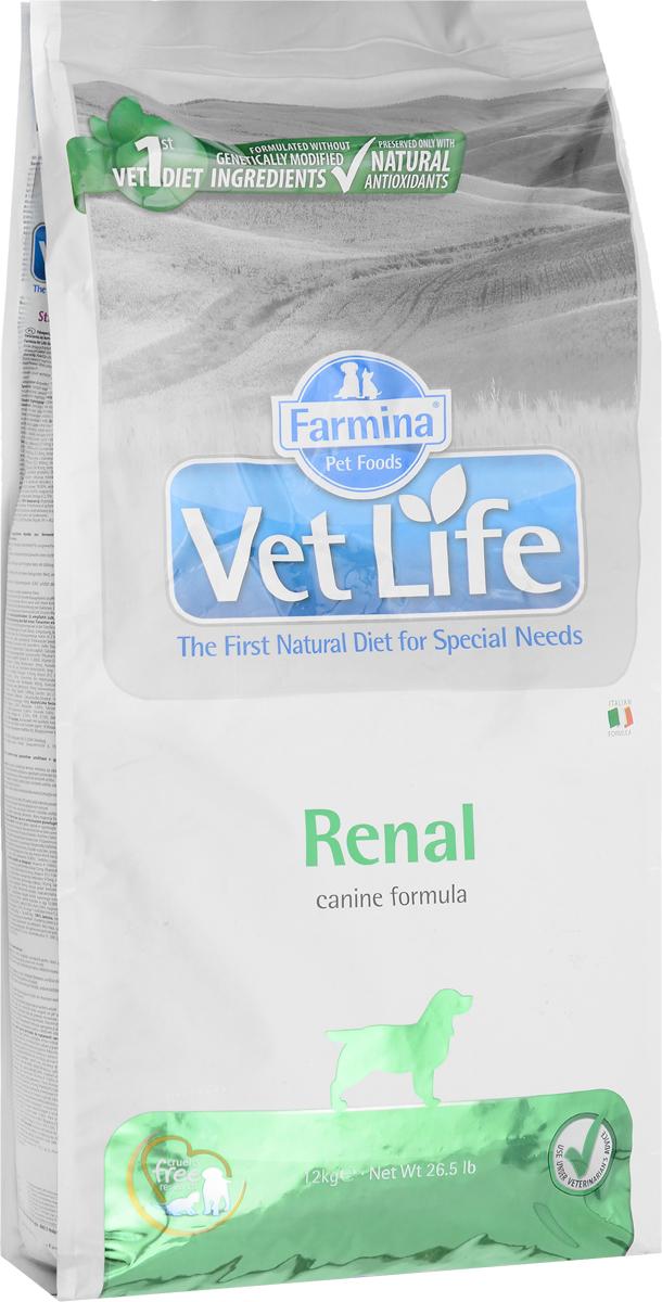 Корм сухой Farmina Vet Life для собак, диетический, для поддержания функции почек, в случаях почечной недостаточности, 12 кг25395Farmina Vet Life - диетическое питание для собак, специально разработанное для поддержания функции почек, в случаях почечной недостаточности. Корм содержит ограниченное количество белков, фосфора и натрия для снижения метаболизма азота; способствует снижению гиперфосфатемии и тормозит развитие гиперпаратиреоза. Способствует контролю системной гипертензии (на начальной стадии сердечной недостаточности). Клинические тесты показали, что Farmina Vet Life улучшает качество жизни собак, страдающих почечной недостаточностью и на начальных стадиях сердечной недостаточности. Товар сертифицирован.