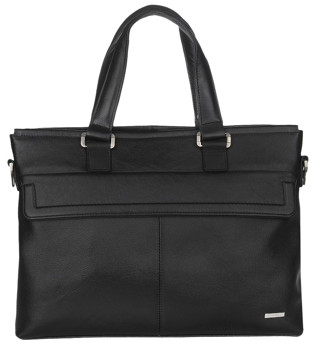 Сумка мужская R.Blake Martin, цвет: черный. GMRI00-00ML06-A0201O-K100GMRI00-00ML06-A0201O-K100Стильная мужская сумка R.Blake Martin выполнена из натуральной кожи. Изделие имеет одно отделение, которое закрывается на застежку-молнию. Внутри сумки расположены открытый накладной карман, мягкий карман для планшета, закрывающийся на хлястик с липучкой, и прорезной карман на застежке-молнии. Снаружи, на передней стенке под клапаном находится прорезной карман на застежке-молнии, на задней стенке - дополнительный прорезной карман на застежке-молнии. Сумка оснащена двумя удобными ручками. В комплект входит съемный текстильный плечевой ремень, который регулируется по длине. Стильная сумка идеально подчеркнет ваш неповторимый стиль.