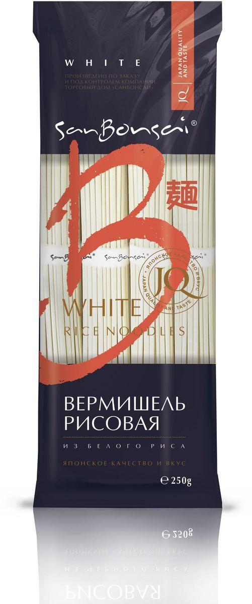 SanBonsai вермишель из белого риса, 250 г8262